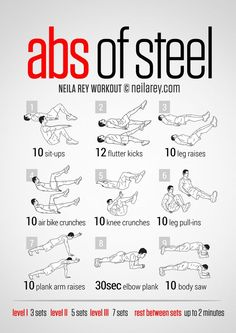 Some great abs exercises!