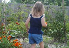 Tank Top Toddler Size free crochet pattern
