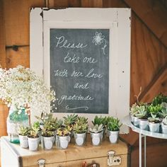 rustic bridal shower favor - Google Search