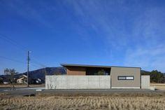 池田の家 | 株式会社SYNC Sumika, Life, Modern Houses, Homes, Contemporary Houses, Modern Homes, Houses, Home, Modern House Design