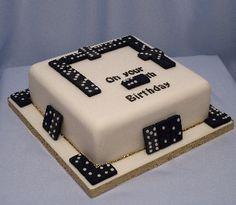 domino cake birthday - Google Search