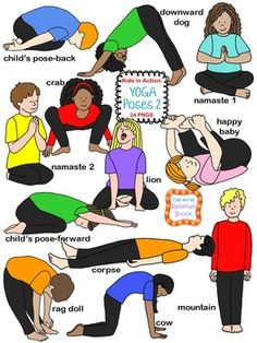 Theyre back! Kids in Action: Yoga Poses 2' is filled with the same adorable and…
