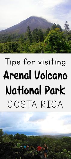Arenal Volcano National Park is the 2nd most popular park in Costa Rica, check our guide to visiting including information about how to get there, what to do, where to stay and more: http://mytanfeet.com/costa-rica-national-park/arenal-volcano-national-park/