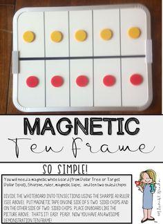 Ten frame demonstration board tutorial