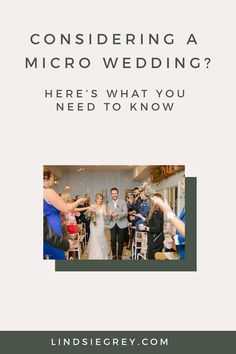 A Micro Wedding (I've also seen the term Tiny Wedding) consists of guests. It's exactly as you would imagine a regular wedding but with less people. Wedding Day Tips, Wedding Day Timeline, Plan Your Wedding, Wedding Planning, Small Casual, Small Weddings, Casual Wedding, Elopements, Rehearsal Dinners