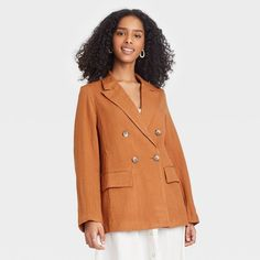 Women's Double Breasted Blazer - A New Day™ : Target
