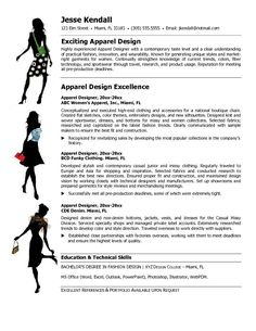 fashion designer resume templates themysticwindow - Fashion Design Resume Template