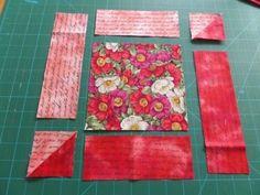 Attic windows quilt block layout
