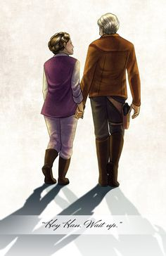 Hey Han, Wait Up by TyrineCarver.deviantart.com on @DeviantArt Stooop I'm crying