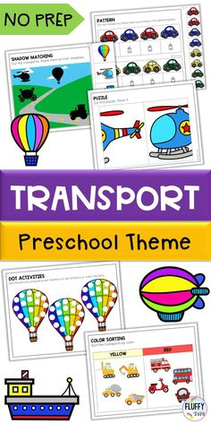 Are you doing lesson plan for Transportation theme for your preschool and kindergarten? This Transportation activities pack is perfect for you. Jam-packed with transportation activities for preschool, your kids will beg for more! Transportation Preschool Activities, Preschool Centers, Motor Skills Activities, Fine Motor Skills, Transport Pictures, Business For Kids, Lower Case Letters, Homeschooling, Toddlers