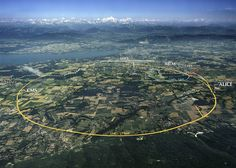Laargest machine on earth? Large hadron collider in Switzerland/France.