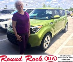 Congratulations to Patricia Brewster on your new car   purchase from Ruth Largaespada at Round Rock Kia! #NewCar