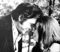 Johnny & June Carter Cash. Damn shame it wasn't the love it looks like here.