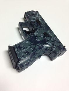Camo hydro dipped gun