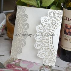 Cheap invitation wedding sample, Buy Quality invitations price directly from China invitation cards designs printing Suppliers: 2014 laser cut wedding card design luxuriouswhite laser cut invitationcardswholesalenewfr