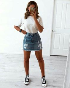 trendy outfits for summer & trendy outfits ; trendy outfits for school ; trendy outfits for summer ; trendy outfits for women ; Cute Summer Outfits, Casual Summer Outfits, Spring Outfits, Trendy Outfits, Cool Outfits, Fashion Outfits, Tumblr Summer Outfits, Fashion Ideas, Classy Outfits