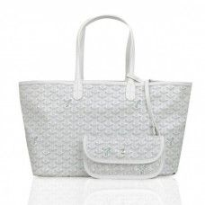 Goyard Saint Louis Tote Bag GM White