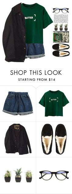 """""""Smoke and Mirrors"""" by woah-its-me ❤ liked on Polyvore featuring Chicnova Fashion, Barbour and UGG"""