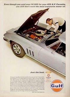 440 Corvette And Camaro Ads Ideas Corvette Vintage Ads Car Ads