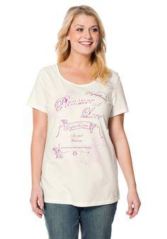 Typ , Shirt, |Material , Baumwolle, |Materialzusammensetzung , 100% Baumwolle, |Ausschnitt , Rundhals-Ausschnitt, |Ärmelstil , Kurzarm, |Gesamtlänge , Größenangepasste Länge von ca. 70 bis 78 cm, | ...
