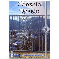 3005/33  GONZATO DESIGN CATALOG  Visit our website at: www.euroeac.com/ or give us a call toll free at: 1-800-465-7143. #euroarchitecturalcomponents #euroeac #euro #architecture #architecturalcomponents #building #construction #iron #ironwork #house #home #renovation #renovations