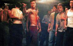 Posts about Fight Club written by kezerdrix Fight Club Brad Pitt, Fight Club 1999, Tyler Durden, Edward Norton, Chuck Palahniuk, David Fincher, Jared Leto, Brad Pitt Workout, Fight Club Workout
