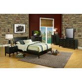 Found it at Wayfair - Alpine Furniture Vista Sleigh Bedroom Collection