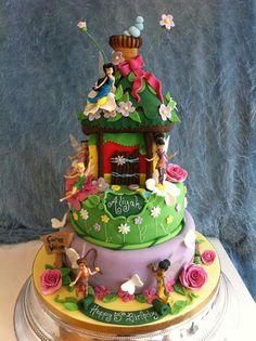 richards cakes tinkerbell birthday cake