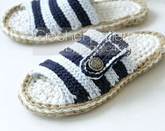 Crochet pattern- men slippers with rope soles,all men sizes,soles pattern included,slip ons,scuffs,loafers,teen boys,adult,shoes,footwear