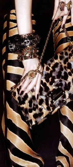 Royal Ethereal (King) || leopard print bag