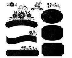 Free High Resolution Vintage Grunge Labels – PS Brushes, PNG & JPEG http://www.melsbrushes.co.uk/?p=2642