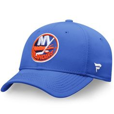 New York Islanders Fanatics Branded Elevated Core Speed Stretch Fit Flex Hat - Royal - $23.99