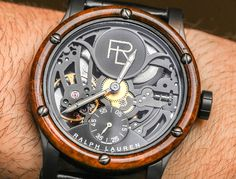 Ralph Lauren RL Automotive Skeleton & Non-Skeleton Watches Hands-On -by…