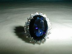 kjl diana princess of wales sz.9 ring kjl by qualityvintagejewels, $68.00