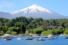 I climbed this volcano! Pucon, Chile is such a beautiful town. <3