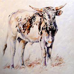 Terry Kobus - Nguni Art: Nguni Cattle