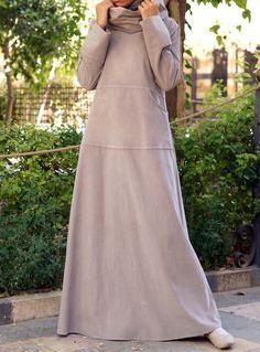 Modest Long Dresses, Modest Outfits, Simple Dresses, Casual Dresses, Dresses For Work, Hijab Style Dress, Boho Dress, Abaya Fashion, Muslim Fashion