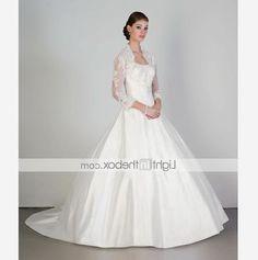 34 sleeve wedding dresses