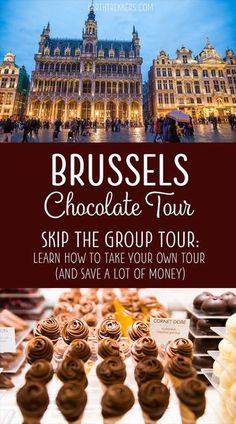 Skip the tour group and take your own Brussels Chocolate Tour visiting the most popular chocolate shops along with Grand Place Manneken Pis Delirium Cafe with our Brussels walking tour. Backpacking Europe, Europe Travel Tips, European Travel, Travel Tours, Nightlife Travel, Budget Travel, Aesthetic Header, Europa Tour, Travel Tips