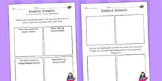 Matilda Reading Research Worksheet - stories, story books, read
