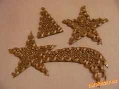 Jednoduché vánoční ozdoby, pro výrobu z dětmi. Není to sice můj nápad ale byla by škoda to tu nedat,...