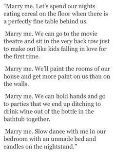 """Marry me.."" this made me cry"