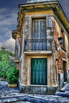Old House in Athens, Greece