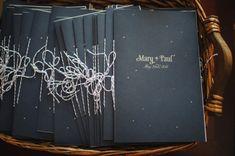 Constellation Wedding Program Mary Rosamond Paper Antler Wedding Stationery Inspiration: Constellations