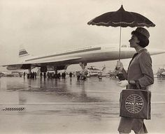 1960s Pan Am flight attendant.