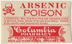 awesome antique labels, from Spokane even!