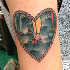 Heathers tattoo. Yes! Although,  I'd put the red Heather in the front about to knock out the green ball.