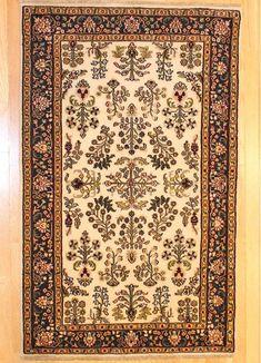 Sarouk Design Rug TAN80013072 India