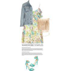 Wardrobe Staple: Jean Jacket, created by ecem1 on Polyvore