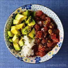 Tuna Rice Bowl #WeekdaySupper | www.kimchimom.com